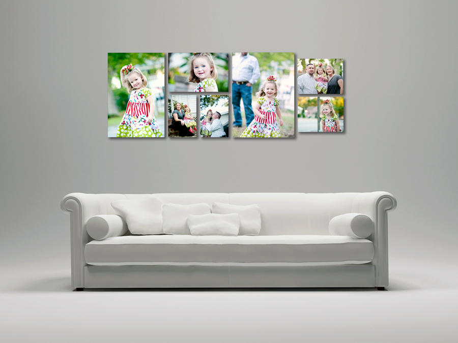 Adding Color to Your Wall | Ideas for displaying your photographs ...